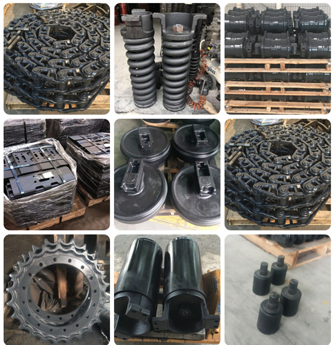 Professional Excavator Undercarriage Parts Supply Of Caterpilar CAT 345C 345D Track Chains 0