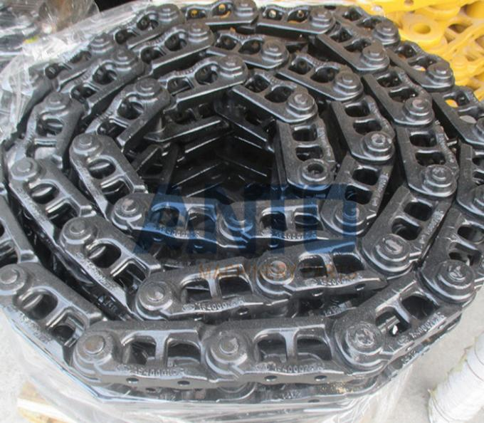 Earthmoving Genuine Excavator Track Chain For Kobelco Komatsu