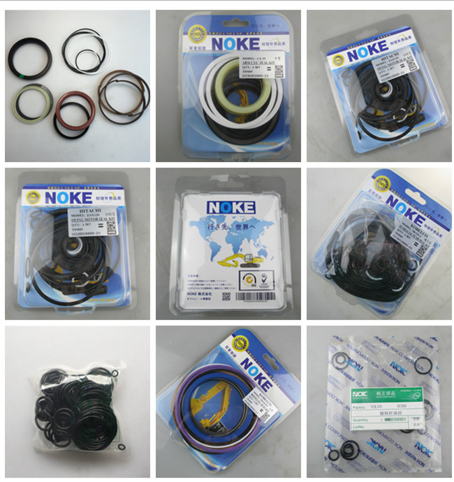 Hitachi ZX120 Swing Motor Excavator Seal Kits Oil Resistance