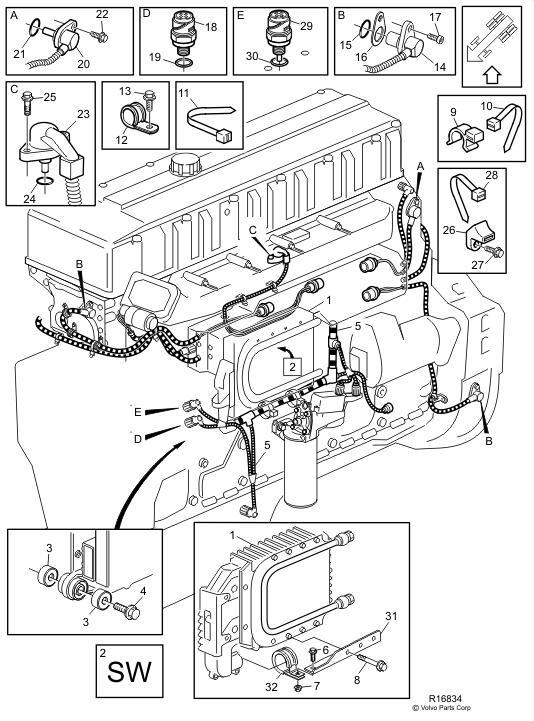 Excavator Controller 20582958 Excavator Spare Parts Apply For Volvo