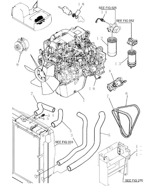 Yn05p01439p1 Excavator Engine Parts Turbocharger Upper Intake Hose