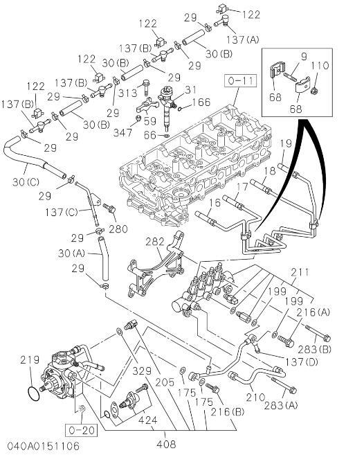 Cat Diesel Engine Parts Diagram