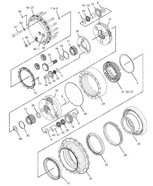 Caterpillar Backhoe Parts Diagram