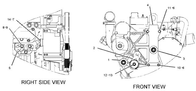 211-7895 Belt Tensioner Applied To Caterpillar CAT 345C 345D 349D Excavator Spare Parts