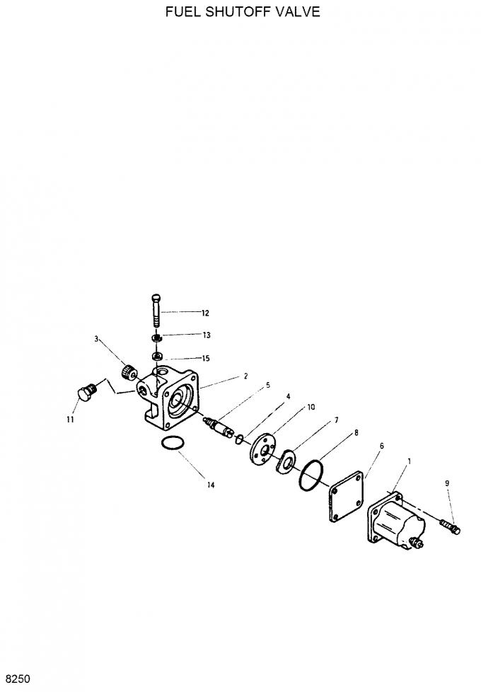 12v 3018453 Ar5499 Fuel Shutoff Solenoid Valve For Cummins