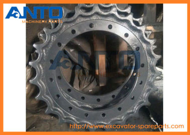 China ZX210 Hitachi Excavator Sprocket Drive Wheel Smooth Finish , Forging Casting Technique supplier