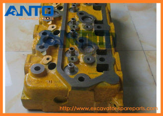 China Durable Excavator Engine Parts , S6K Engine Cylinder Head For Caterpillar Excavator E200B  E320B supplier