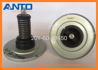 China 20Y-60-31450 Valve Assembly Komatsu For Hydraulic Tank PC300-8MO Excavator Parts supplier