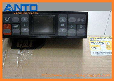China 293-1136 Air Conditioner Control Panel Applied To Caterpillar 324D 325D Excavator Parts supplier