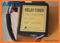 China 21N4-00762 24V Timer Relay Used For Hyundai R80-7 R210LC-7 Excavator Spare Parts factory