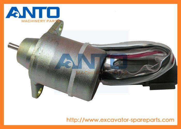 Pl Komatsu Excavator Replacement Parts Diesel Fuel Shut Off Solenoid Valve on Mins M11 Fuel Pump