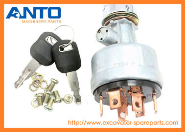 China 7Y3918 Excavator Ignition Switch 6 lines 2 keys for Caterpillar Cat E320B Excavator Parts distributor