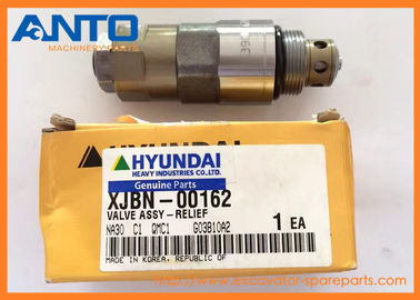 China XJBN-00162 Port Relief Valve Used For Hyundai R200W-7 R210-7 R250-7 R305-7 R290-7 R320-7 Excavator Parts distributor